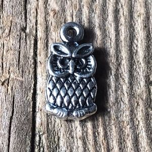 ❤️4 for $25 ❤️ Owl Pendant Charms for Crafting